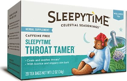 Celestial Seasonings Vanilla Detox Tea by Celestial Seasonings Sleepytime Throat Tamer Wellness