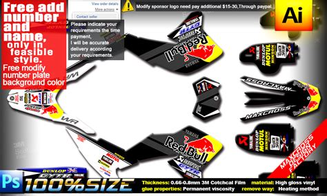 Yamaha Wr250r Sticker Kit by Yamaha Wr250r Wr250x All Years Maxcross Graphics Kit