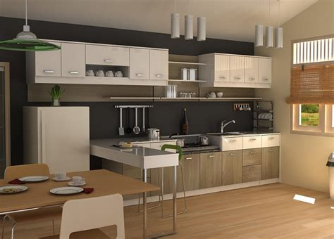 small modern kitchen design ideas modern kitchen cabinet designs for small spaces
