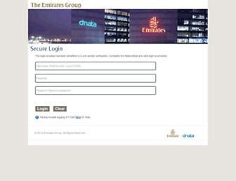 emirates login emirates portal log in secure websites xmarks com ek