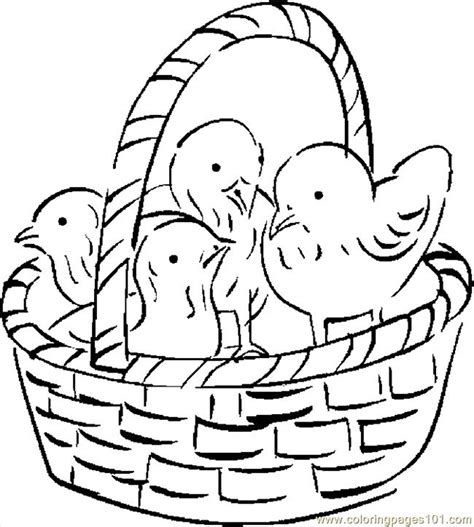 vegetable basket coloring coloring pages