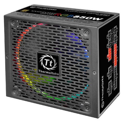 Thermaltake Toughpower Grand Rgb 850w 80 Gold thermaltake toughpower grand rgb 850w 80 plus gold modular