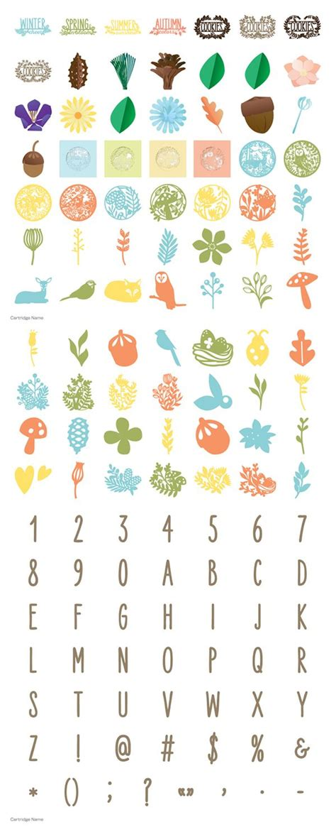 cricut cartridge home decor 17 best images about cricut 4 seasons home decor on