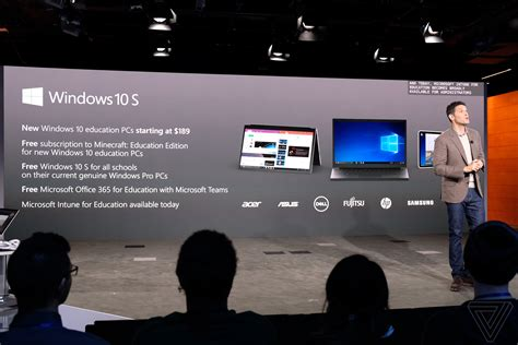 Windows 10 S is Microsoft's answer to Chrome OS   The Verge