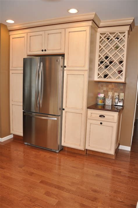 Custom Size Kitchen Cabinets | semi custom medium sized kitchen traditional other