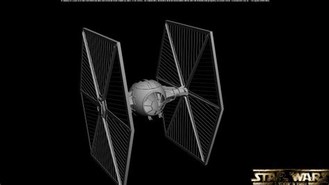 tie fighter wip image wars a galaxy in crysis mod