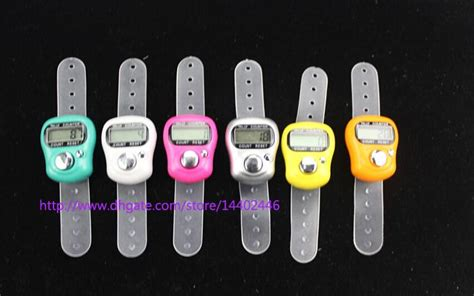 Diskon Tally Counter Digital Finger discount mini hold handed band tally counter lcd