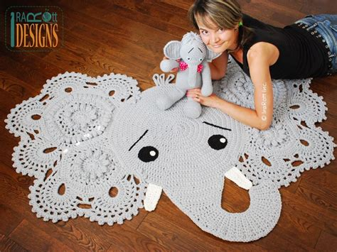 Crochet Elephant Rug Buy by Josefina Or Jeffery Elephant Rug Pdf Crochet Pattern For