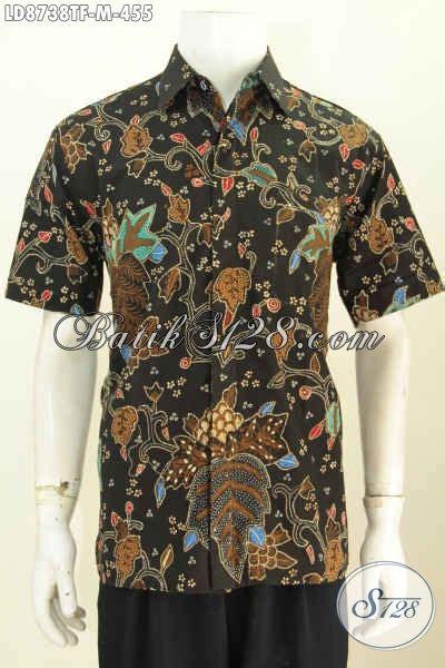 Hem Kemeja Batik Pria Candi batik pria pakaian yang berkualitas bagus dan nyaman saat