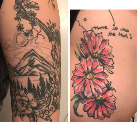 tattoo billings mt these montana tattoos feature huckleberries bitterroot