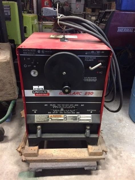 lincoln idealarc lincoln idealarc 250 welder for sale classifieds