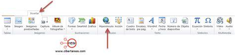 tutorial de powerpoint 2010 insertar hiperv 237 nculos en powerpoint 2010 cibertareas