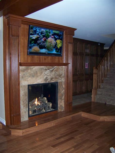 2 Sided Fireplace by Fireplaces Carleton Refrigeration