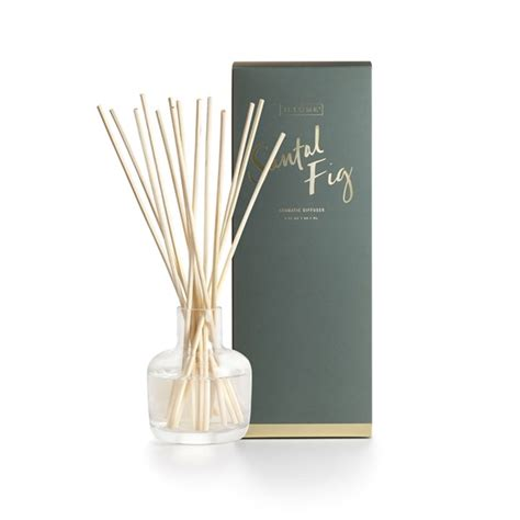 santal fig essential reed diffuser by illume candle