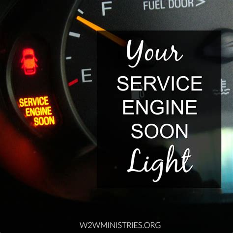 What Does Service Engine Soon Light to service engine soon
