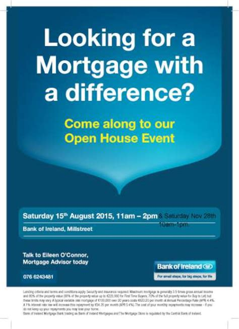 can someone buy me a house looking for a mortgage with a difference millstreet ie