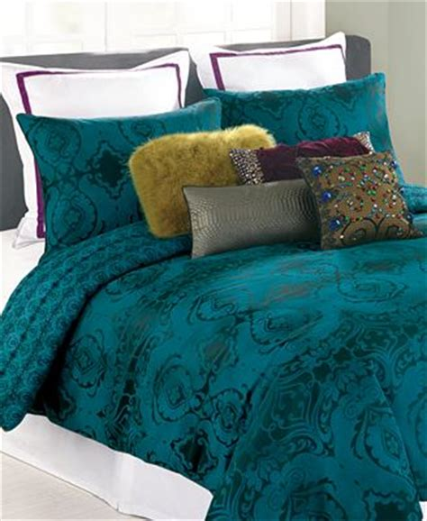 Teal King Comforter by Closeout Nanette Lepore Villa Teal Baroque King Comforter