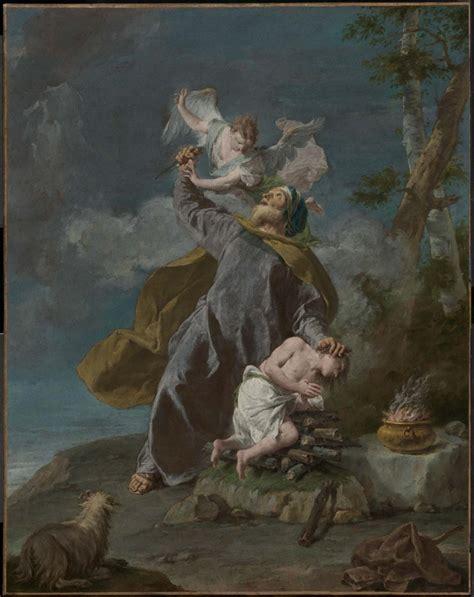 abraham isaac and his son abraham sacrificing his son isaac museum of fine arts