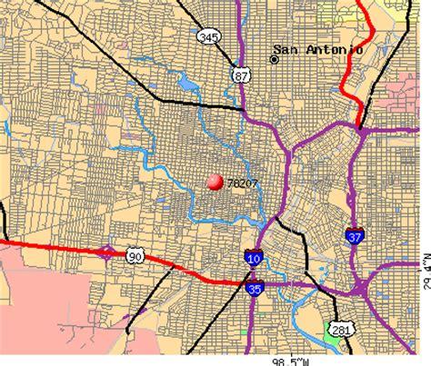 zip code map of san antonio texas 78207 zip code san antonio texas profile homes apartments schools population income