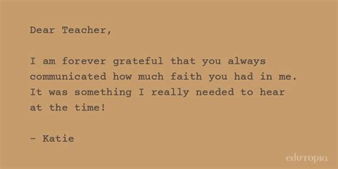 heartfelt thank you letter edutopia on quot heartfelt thank you letters to the