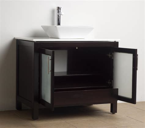 Solid Wood Bathroom Vanity Bathroom Vanity Solid Wood Espresso Wh 0908 5