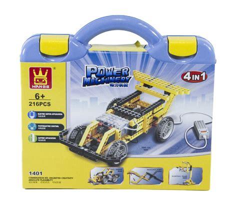 Azeila 4in1 4in1 Set 4in1 power machinery crane set
