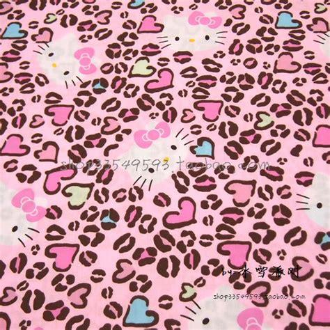 imagenes de hello kitty en animal print popular leopard print cotton fabric buy cheap leopard