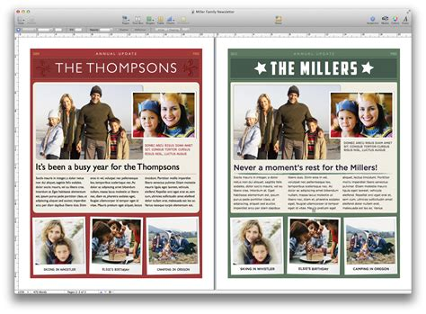 newsletter templates for apple pages how to create a newsletter using pages macworld uk