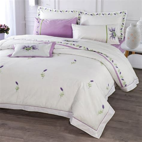 Aliexpress Quilt Covers | amazing aliexpress buy purple lavender bedding set white