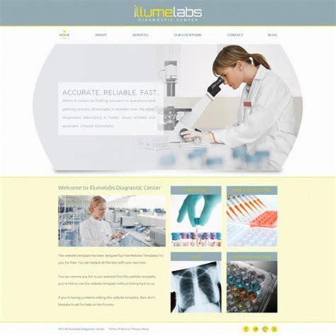 Laboratory Website Template Free Website Templates Laboratory Website Templates