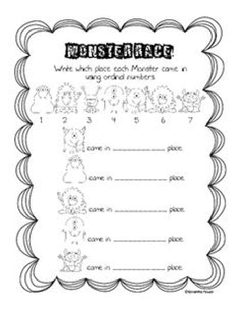 Ordinal Animal Character 02 ordinal numbers with fruit characters bugs and frogs