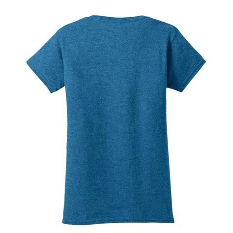 Kaos Polos Gildan Blue Sapphire Size M gildan 64000l softstyle junior fit t shirt antique sapphire fullsource