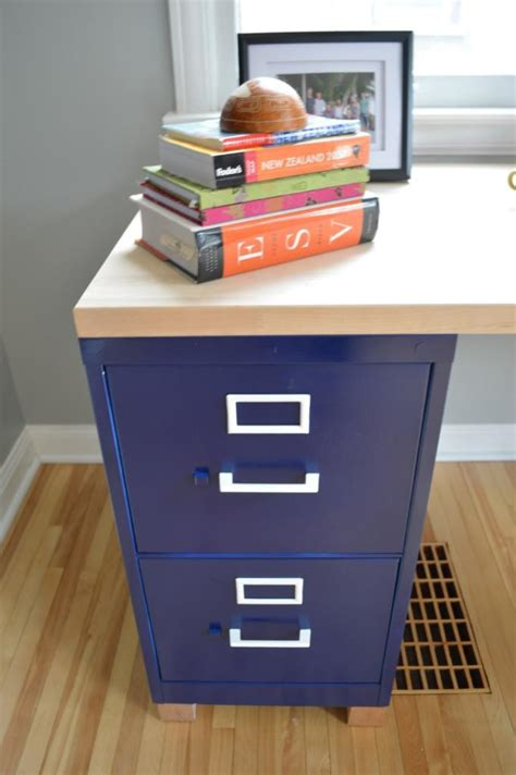 diy friday build your own file cabinet desk mcaleer s