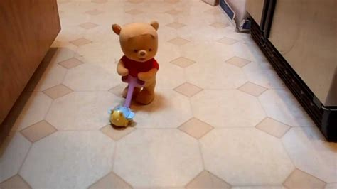 pop  baby pooh walking disney winnie  pooh bear