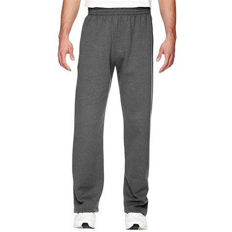 fruit of the loom sweatpants fruit of the loom sf74r sofspun open bottom sweatpants