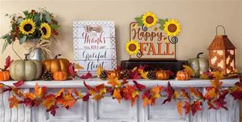 How To Make Fall Decorations At Home Fall Home Decor Party City