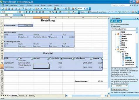 xml tutorial with c tutorial xml datenaustausch mit excel ix