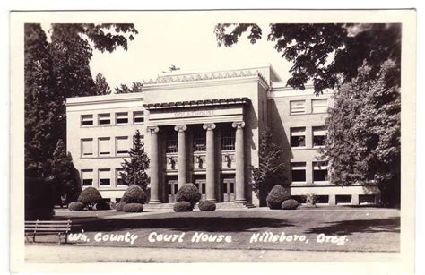 Washington County Oregon Court Search Washington County Oregon Courthouse Postcards