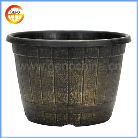 20 Inch Flower Pots 20 Quot Inch Whiskey Barrel Flower Pot Painting Designs