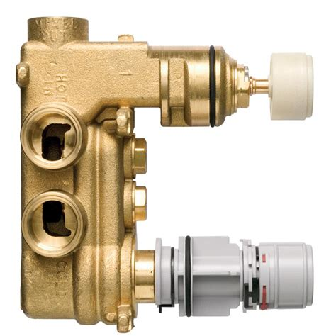 Shower Faucet Repair Tt Built In Thermostatic 2 Control Shower Valve Body