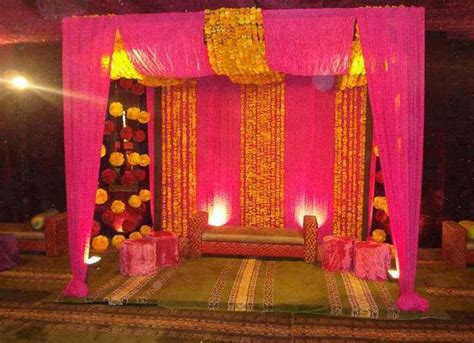 engagement decoration at home bengali wedding guide gaye holud or turmeric on the body