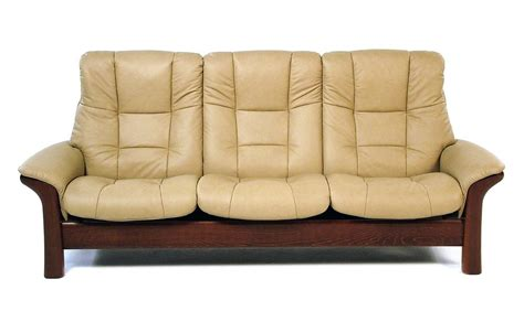 High Back Reclining Sofa Stressless By Ekornes Stressless Buckingham High Back Leather Reclining Sofa Rotmans
