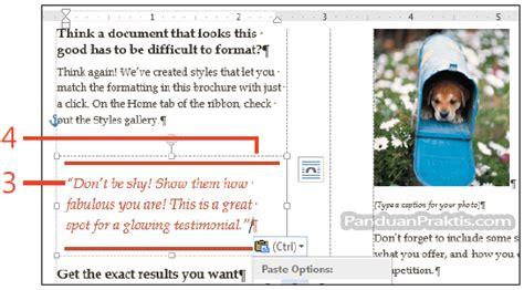 cara menggambar office layout di cara membuat merge dan cara memasukkan dan menggambar text box kotak teks di