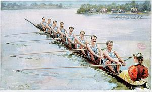 sculling paintings for sale - Sculling Boat Painting