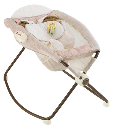 Snugabunny Rock N Play Sleeper by Fisher Price Snugabunny Deluxe Rock