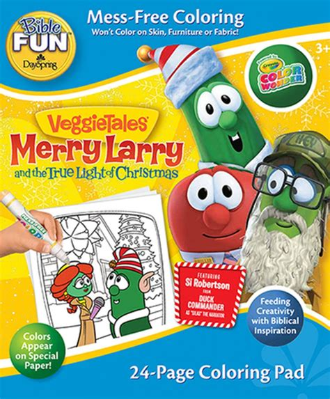 merry larry and the true light of veggietales merry larry the true light of