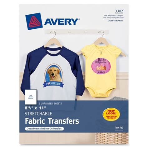 avery iron on transfer paper template avery iron on transfer paper ave3302 officesupply com