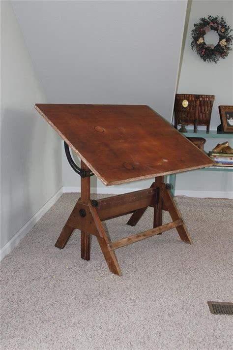 Antique Wooden Drafting Table 17 Best Images About Drafting Tables On Pinterest Industrial Wood Drafting Table And Furniture