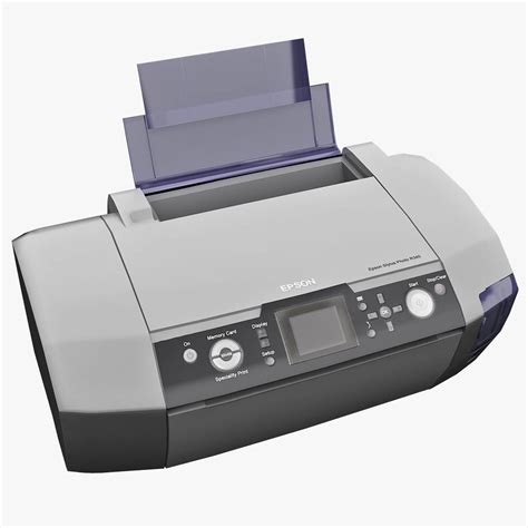 printer epson r340 by 3d molier collection of 3d models