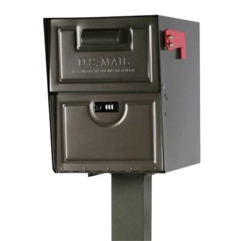 gibraltar mailboxes armory venetian bronze locking steel